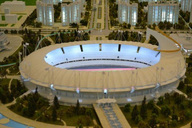 Президент Туркменистана встретился с участниками Олимпиады