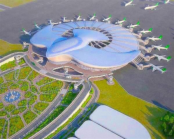 В Ашхабаде сдали в эксплуатацию новый терминал аэропорта